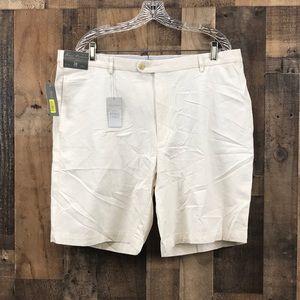 100% Cotton Daniel Cremieux White Shorts Size 38